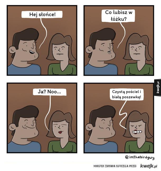Co lubisz w łóżku?