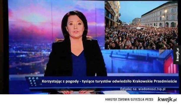 Reakcje na protesty w Polsce