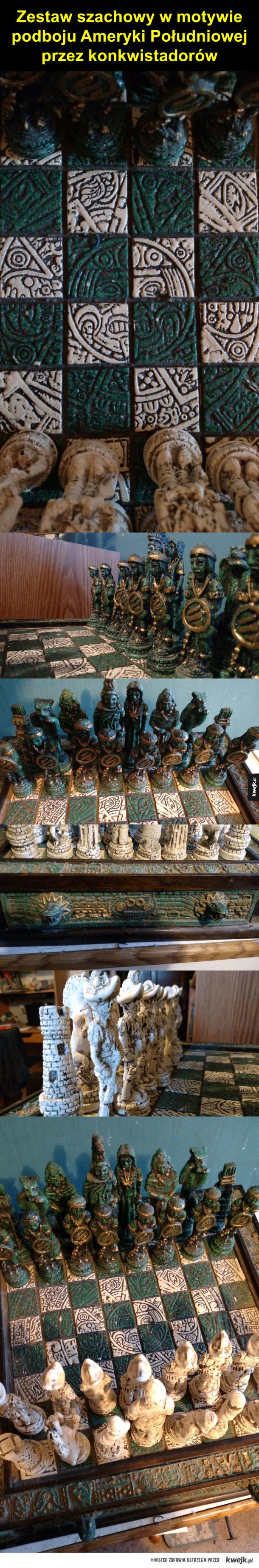 Zajebisty zestaw szachowy