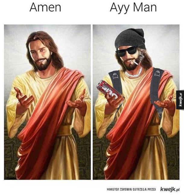 Wyluzowany Jezus