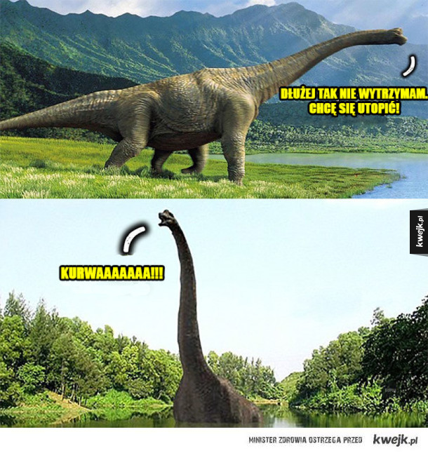 Pechowy Brachiozaur
