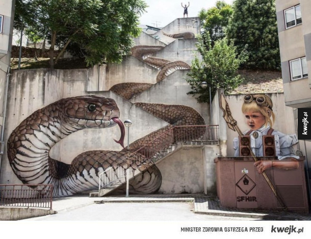 niesamowity street art