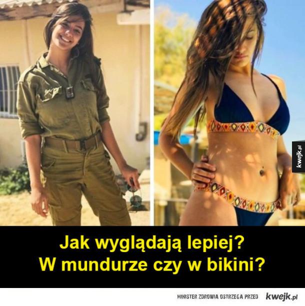 Izraelskie dziewczyny w mundurze