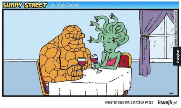 Zabawne komiksy Sunny Street