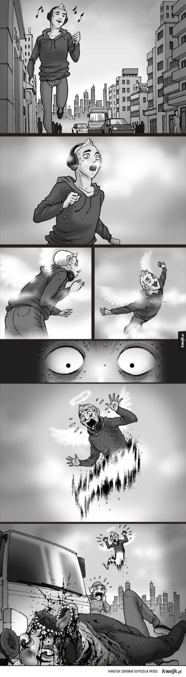 Komiksy Silent Horror
