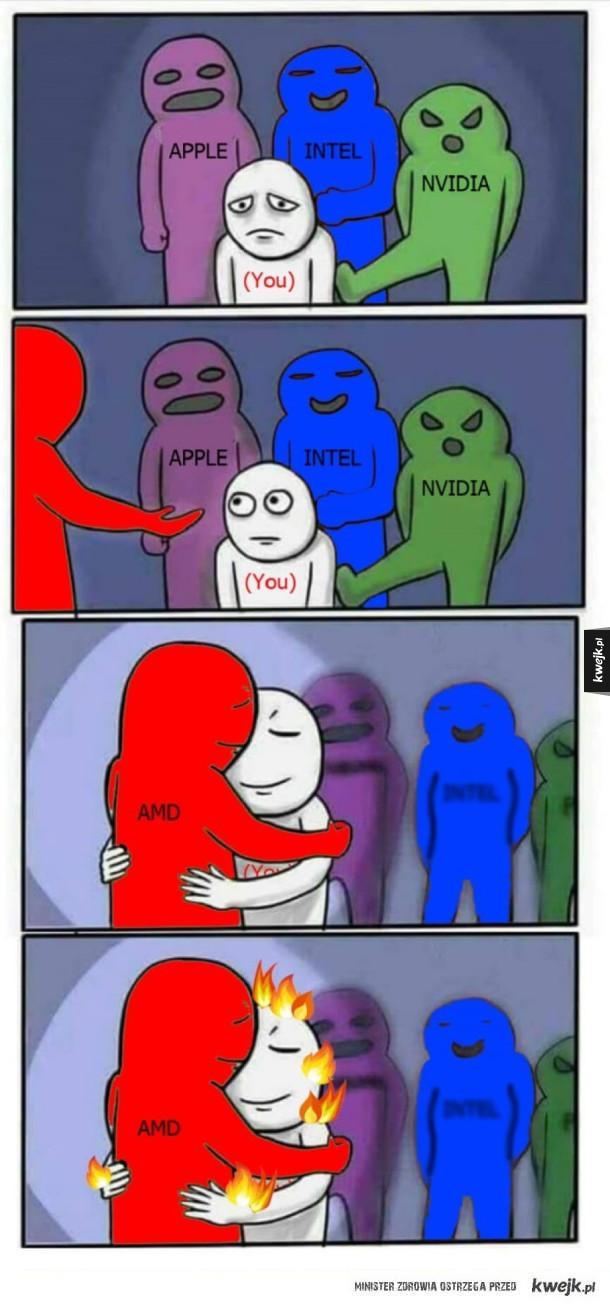 Dzięki AMD