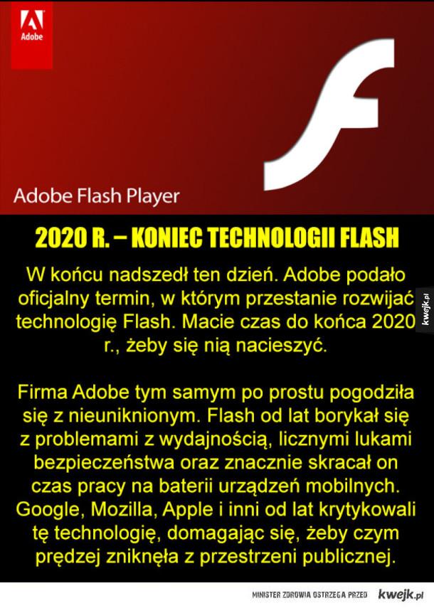 Nadchodzi koniec ery Flasha