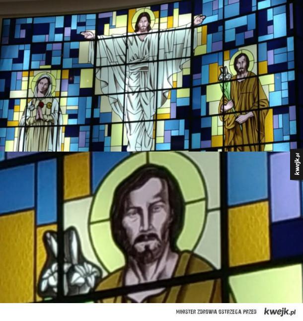 Keanu to św. Józef?!