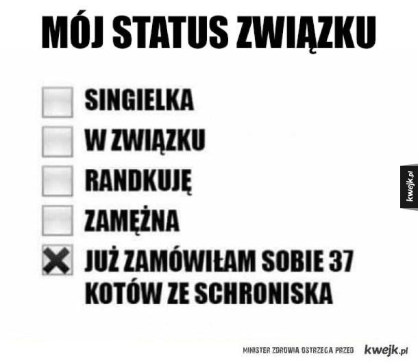 Mój status związku