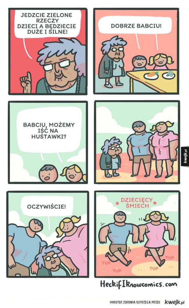 Babcia wie, co mówi