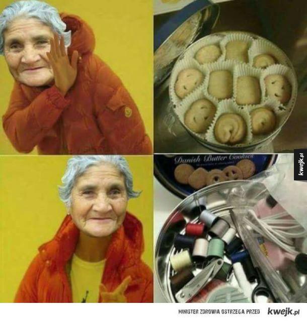 Każda babcia