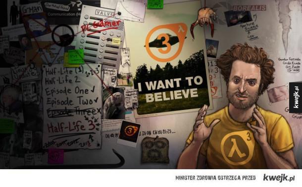 Udostępniono fabułę Half-life 3! - gra i tak nie wyjdzie