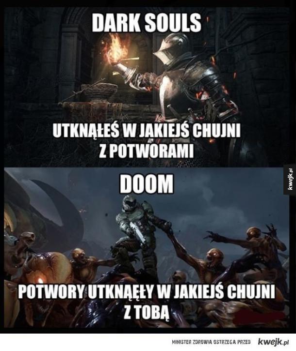 Dark Souls kontra doom