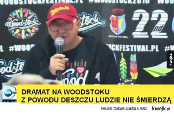 Dramat na Woodstocku