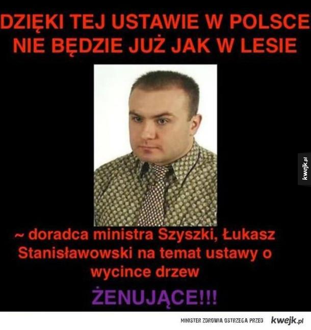 Doradca ministra Szyszki