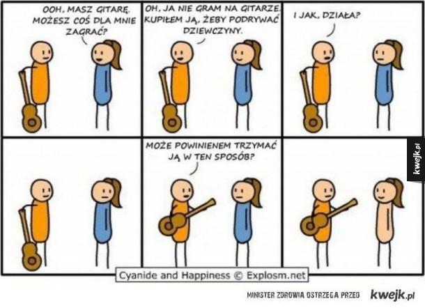 Chłopak z gitarą