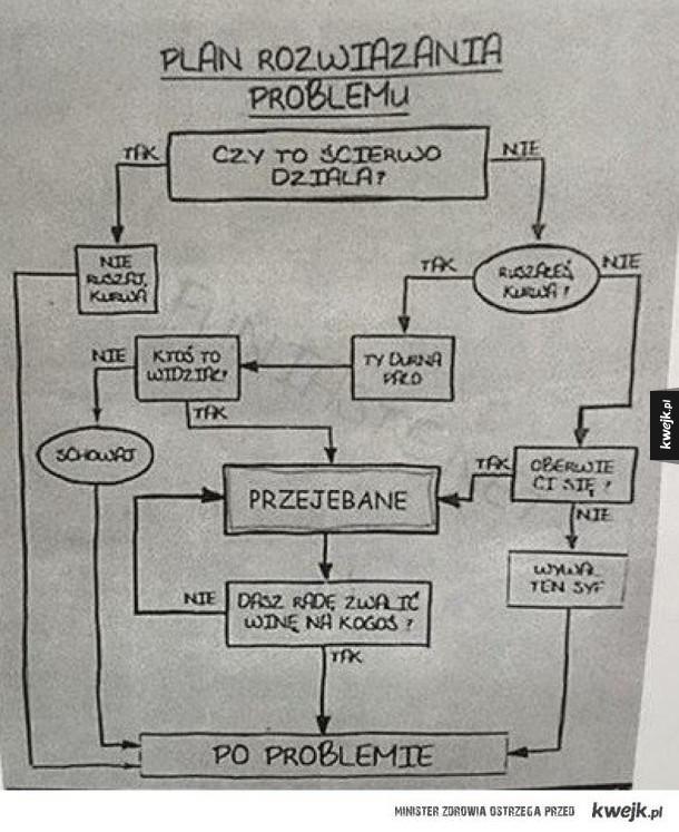 Plan rozwiązania problemu