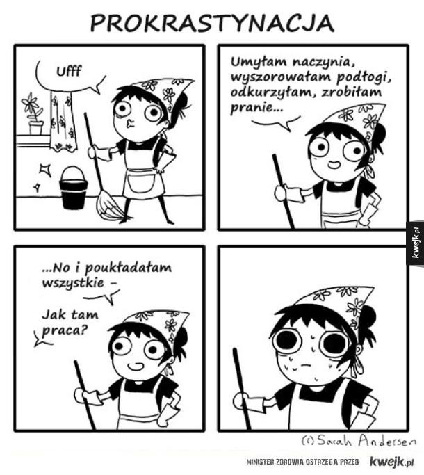 Komiksy Sarah's Scribbles