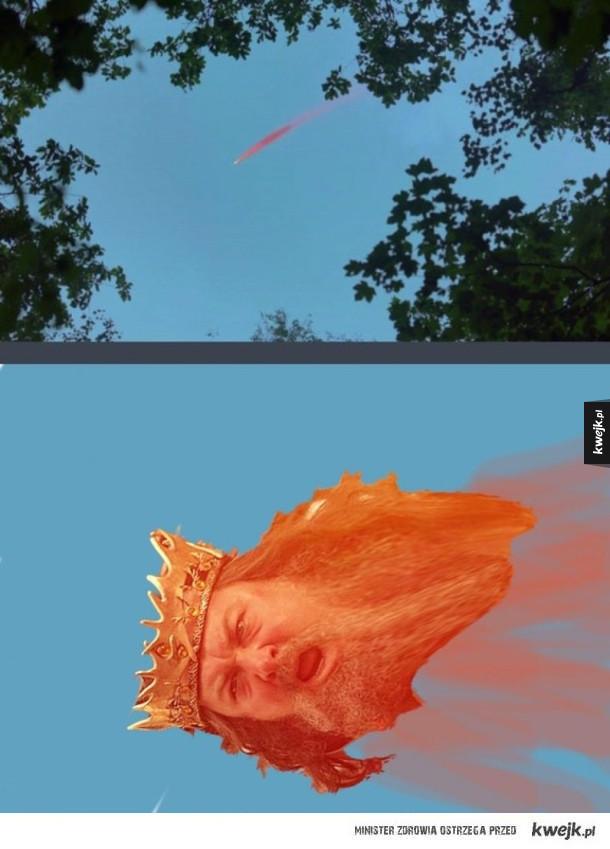 Kometa z Gry o Tron
