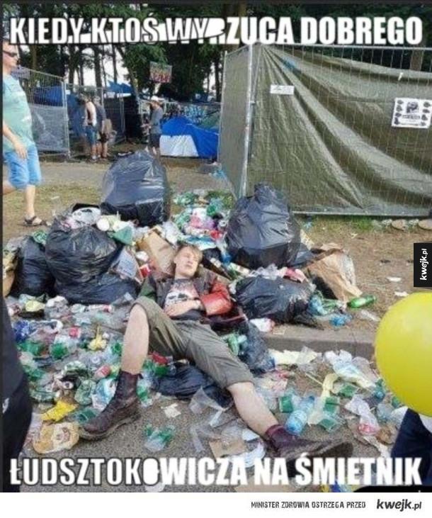 Całkiem sprawny Woodstockowicz