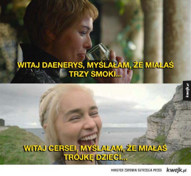 Cersei kontra Daenerys