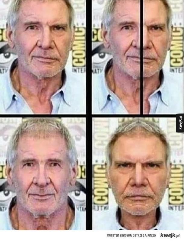 Różne twarze Harrisona Forda