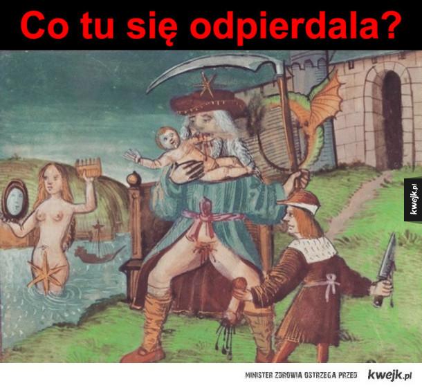 Średniowieczna sztuka jest wspaniała
