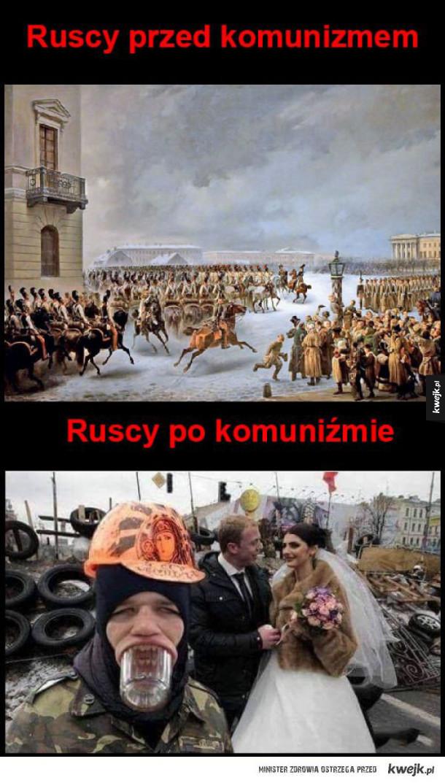 Rosjanie przed komunizmem i po nim