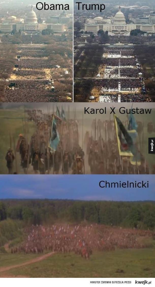 To są prawdziwe tłumy
