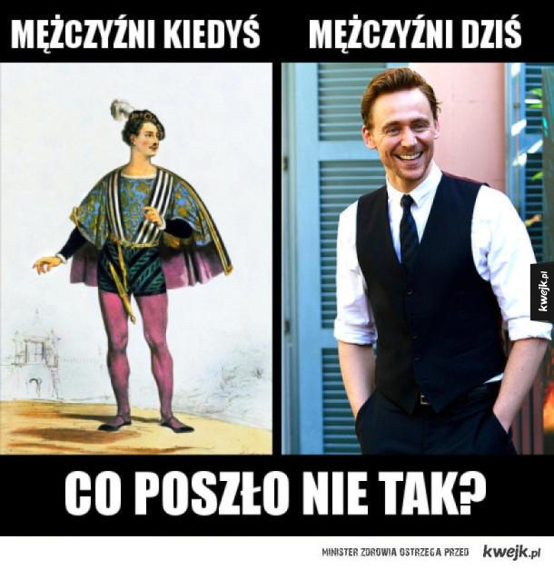 Mężczyźni kiedyś i dziś