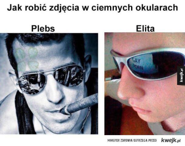 Selfie w okularach