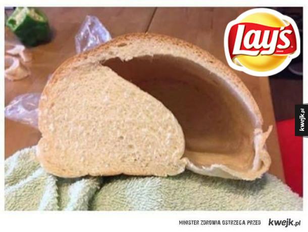 Gdyby Lay's sprzedawał chleb