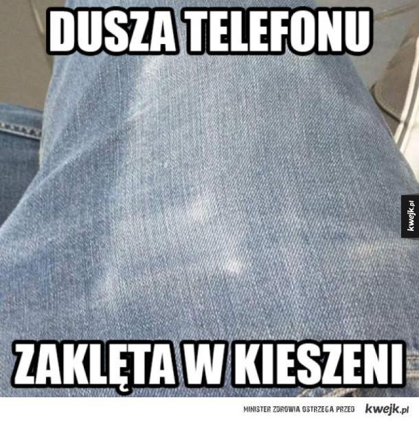 Dusza telefonu