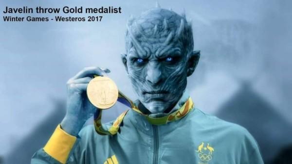 Mistrz olimpijski w rzucie oszczepem