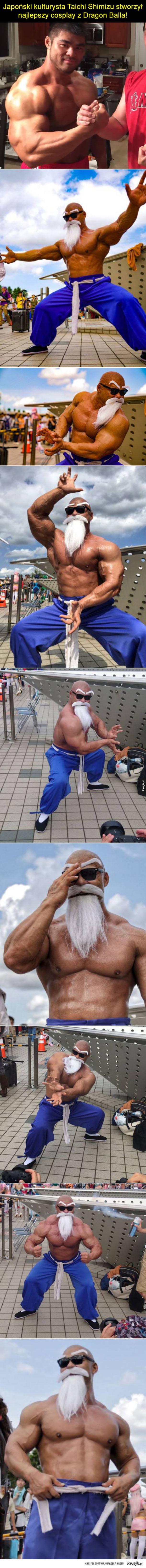 Najlepszy cosplay z Dragon Balla