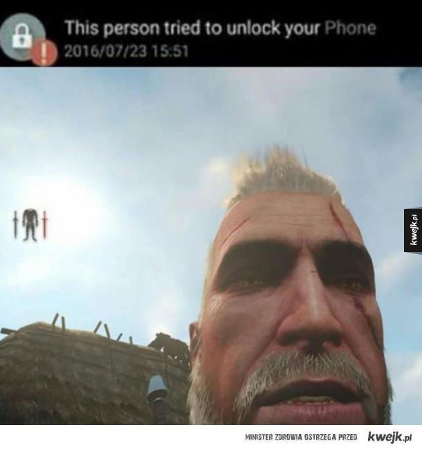 Takie tam selfie