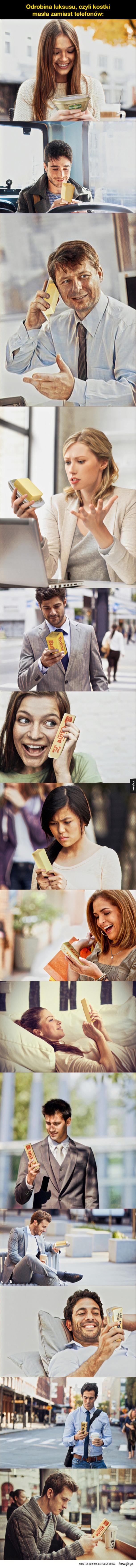 Mistrzowie Photoshopa kontra masło