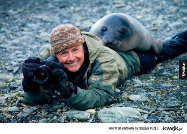 By fotografować przyrodę, musisz stać się jednością z przyrodą