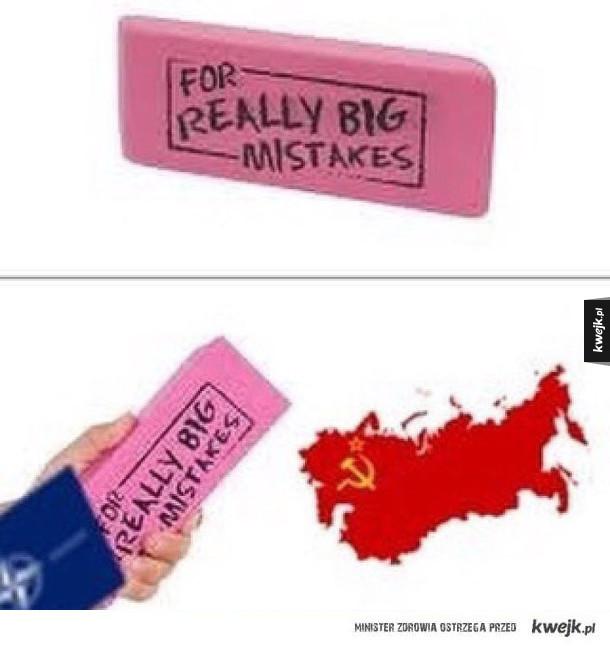 Coś na wielkie błędy