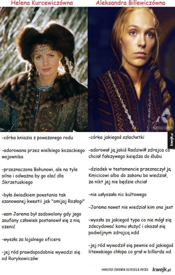 Helena kontra Aleksandra
