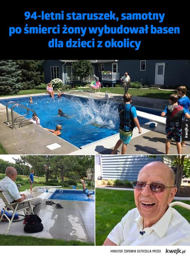 Niesamowity staruszek