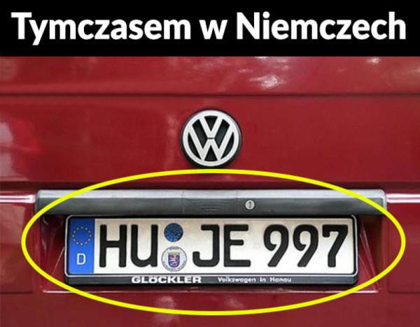 Niemiecka rejestracja