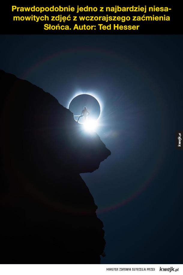 Zaćmienie Słońca: zdjęcia i reakcje Internautów