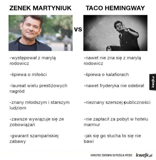 Zenek vs Taco