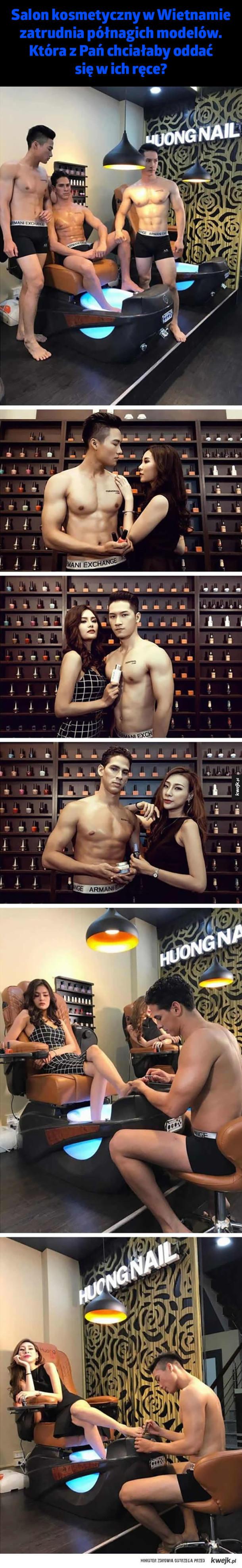 Salon kosmetyczny w Wietnamie