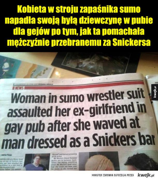 Tymczasem w anglojęzycznym świecie nagłówków nie do ogarnięcia