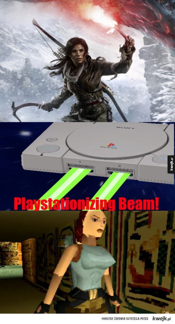 Playstationizing Beam!