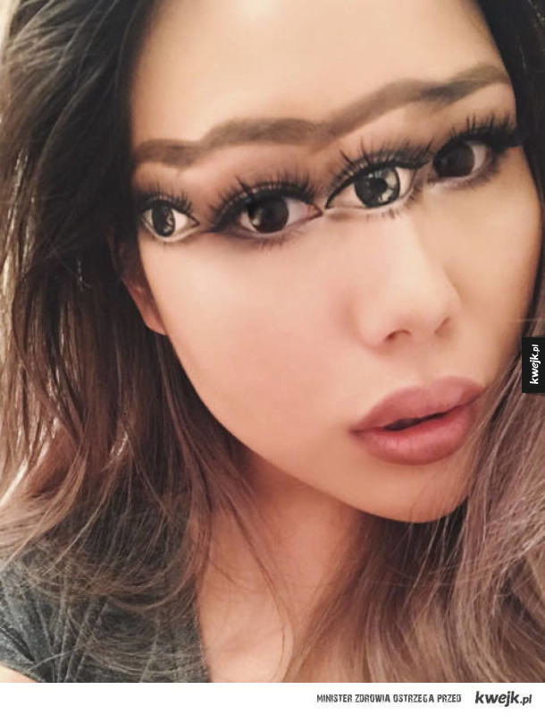 Niesamowite iluzoryczne makijaże Mimi Choi