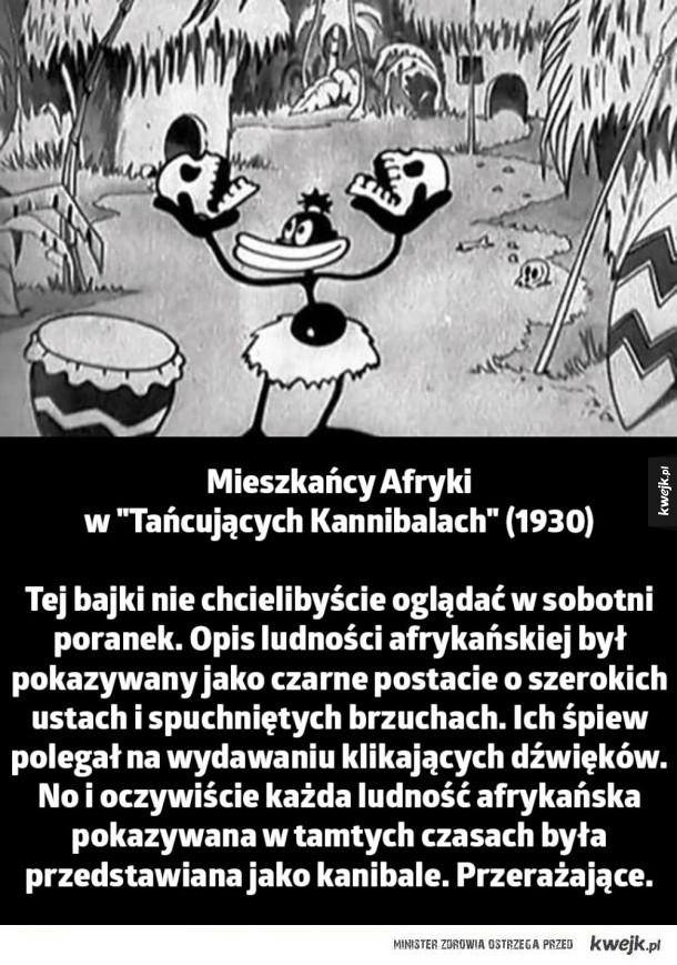 Kilka przykładów jak mroczne i rasistowskie były kiedyś bajki Disney'a - Mieszkańcy Afryki w