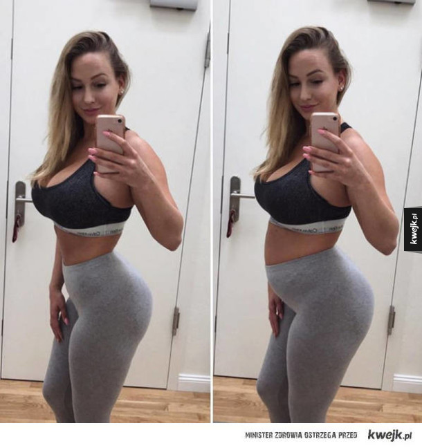 """""""Idealne ciała"""" na Instagramie i w rzeczywistości"""